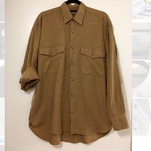Other - Hart Schaffner Marx Men button Shirt
